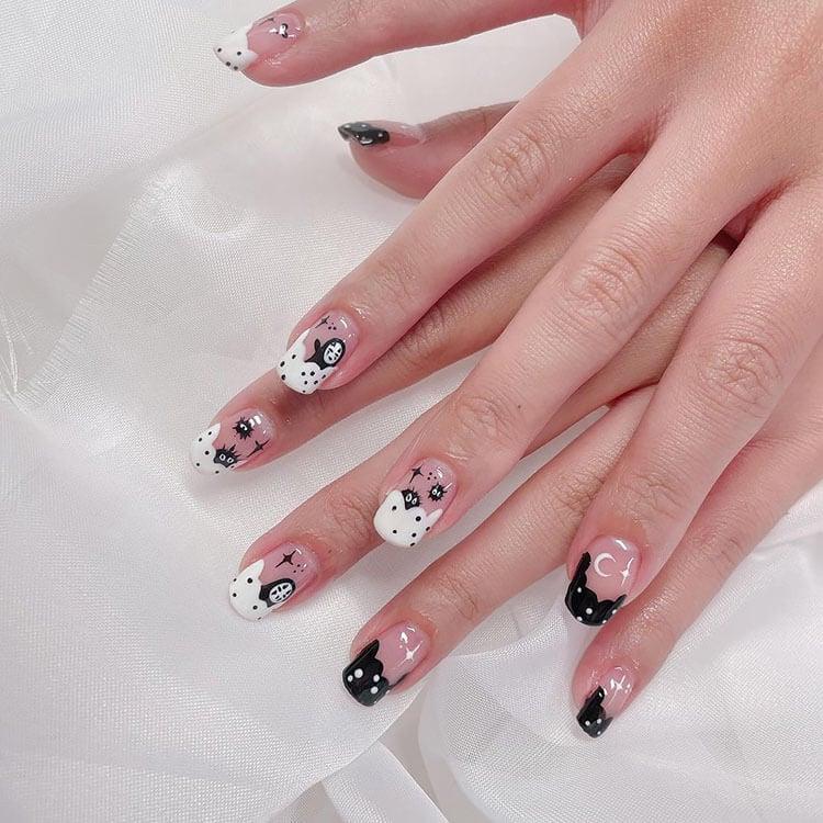 spirited away square nails