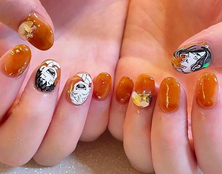 tokyo revengers nails