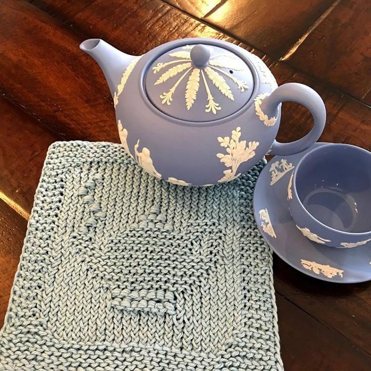 Teatime Washcloth