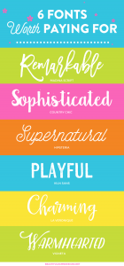 6 Fonts Worth Paying For | Font Series #23