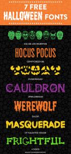 7 Free Halloween Fonts | Font Series #24