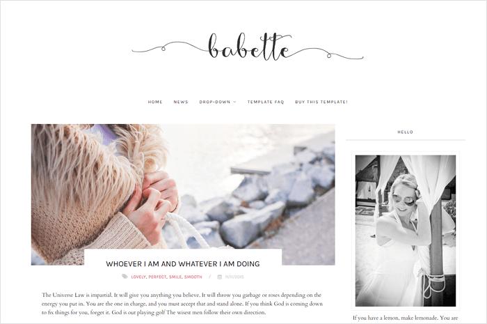 babette-blogger-template