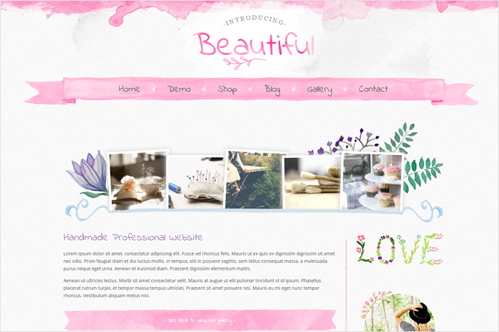 beautiful-wordpress-theme