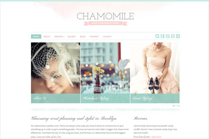 chamomile-wordpress-theme