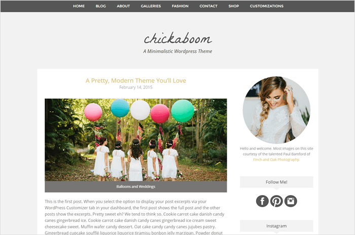 chickaboom-wordpress-theme