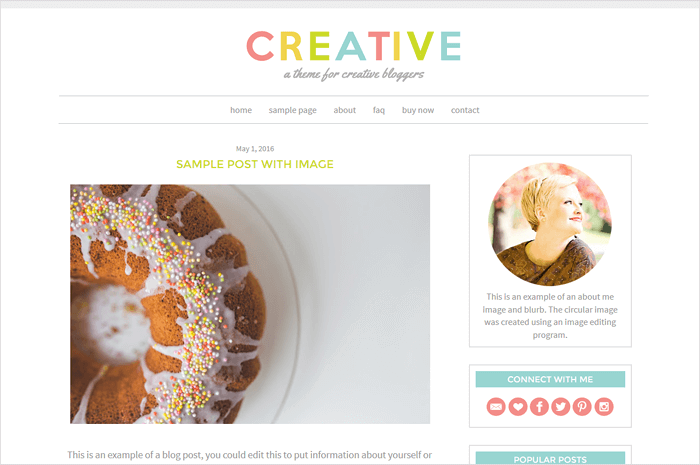 creative-blogger-template