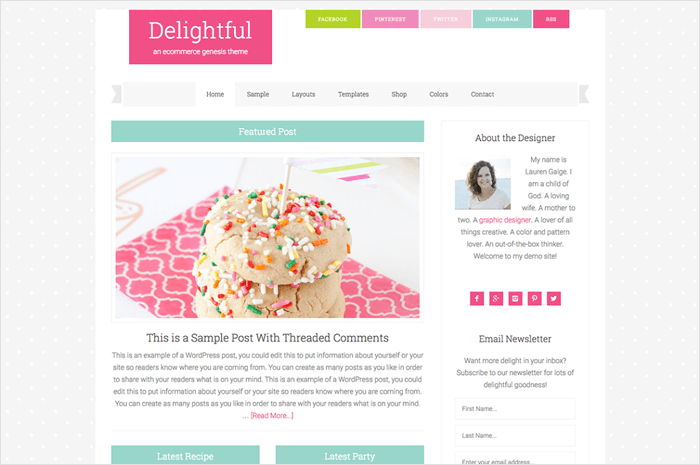 delightful-wordpress-theme