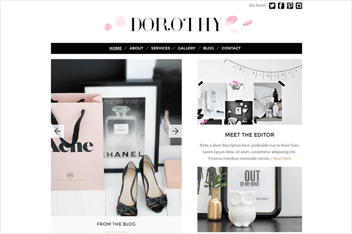 dorothy-wordpress-theme