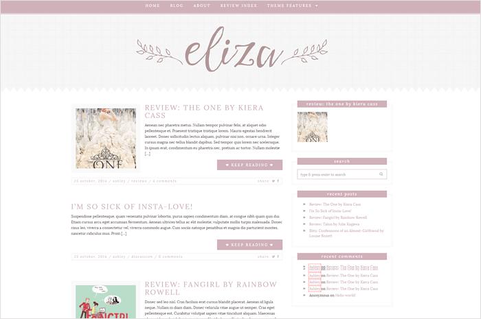 eliza-wordpress-theme
