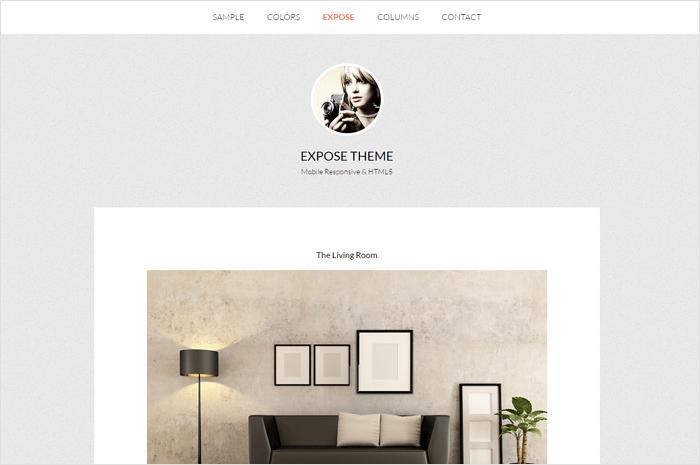 expose-wordpress-theme
