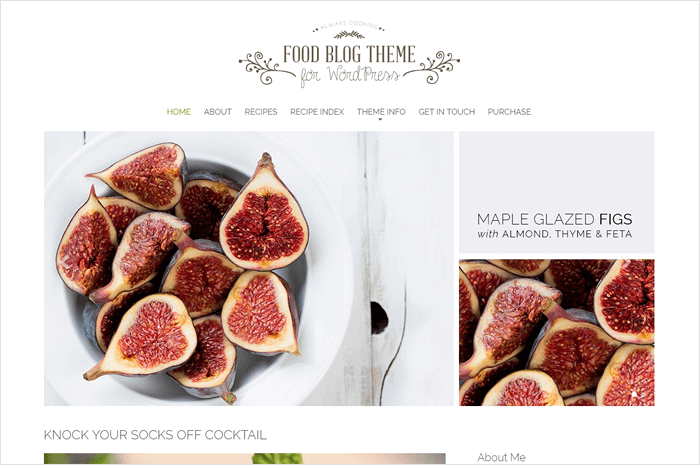 food-blog-theme