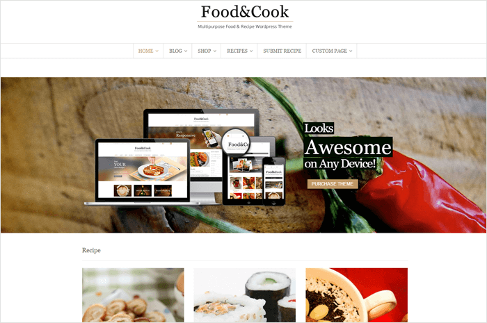 food-cook-wordpress-themes