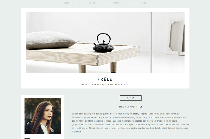 frele-blogger-template