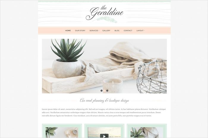 geraldine-wordpress-theme