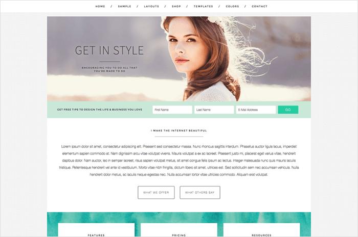 get-in-style-wordpress-theme