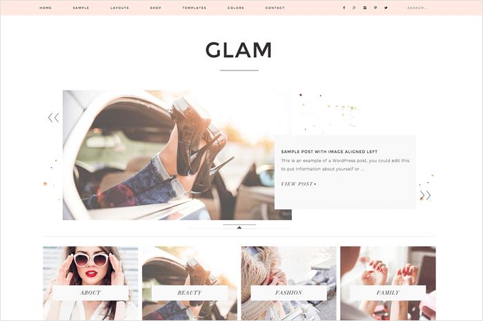 glam-wordpress-theme