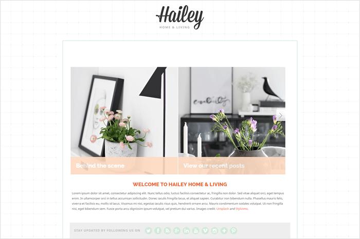 hailey-wordpress-theme