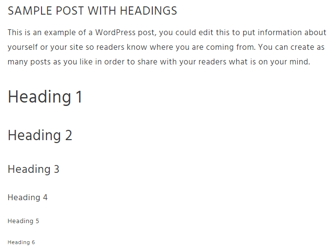 headings-sample