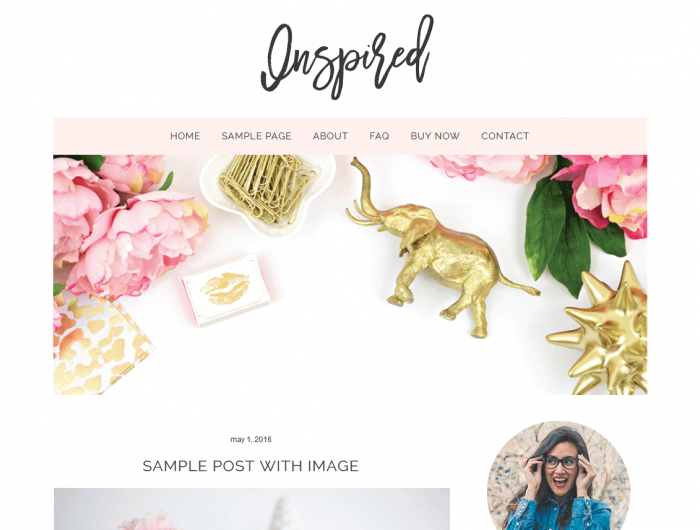 Inspired Blogger Template