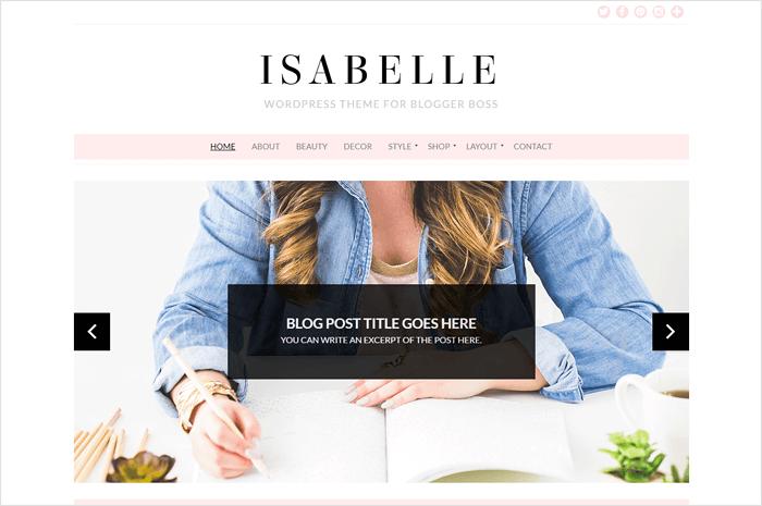 isabelle-wordpress-theme