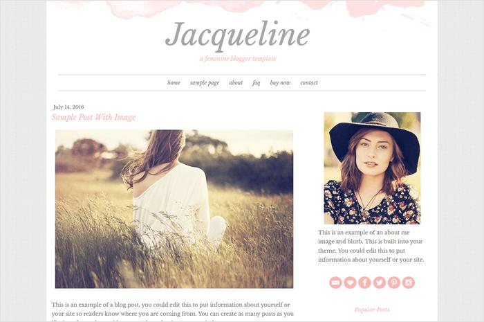 jacqueline-template-blogger-template