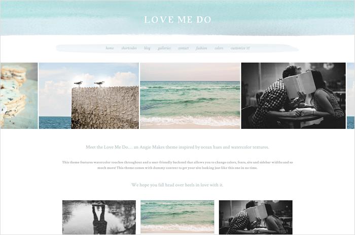 love-me-do-wordpress-theme