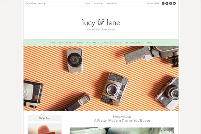 lucy-lane-wordpress-theme