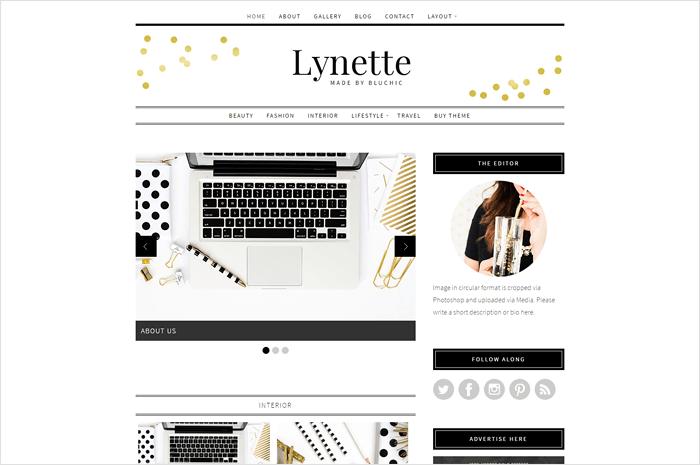 lynette-wordperss-theme