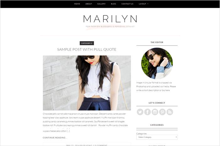 marilyn-wordpress-theme
