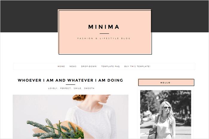 minima-blogger-template