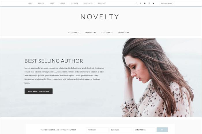 novelty-wordpress-theme