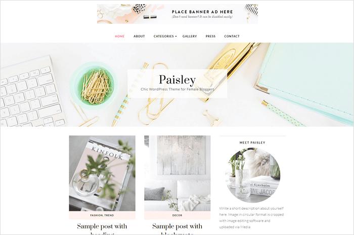paisley-wordpress-theme