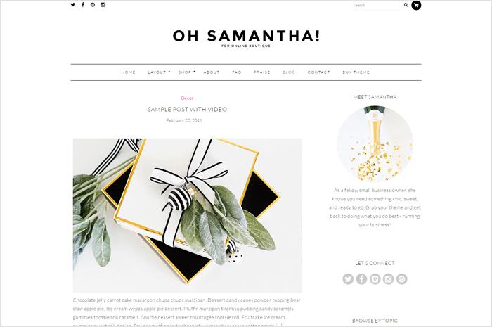samantha-wordpress-theme