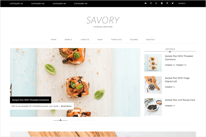 savory-wordpress-theme