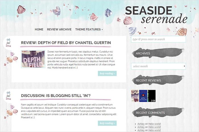 seaside-serenade-theme