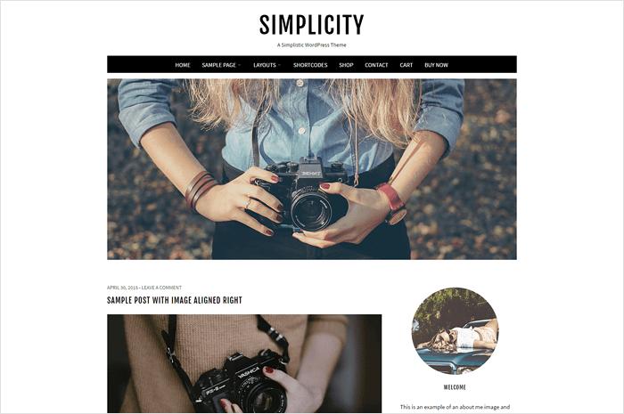 simplicity-wordpress-theme
