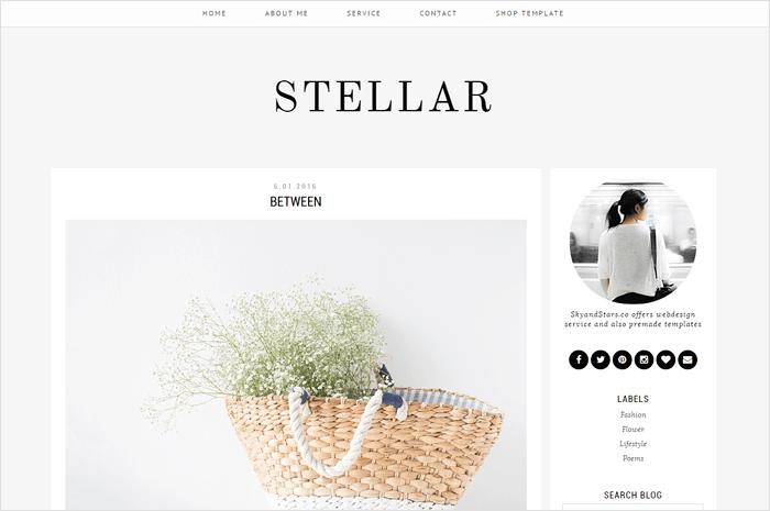 stellar-blogger-template
