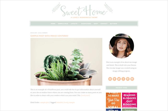 sweet-home-wordpress-theme