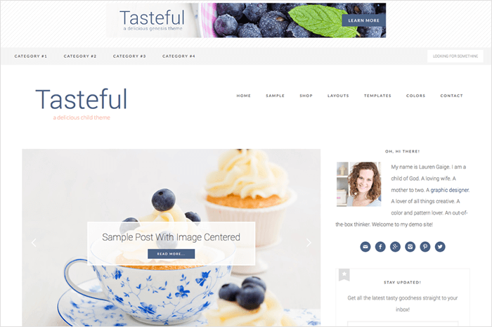 tasteful-wordpress-theme