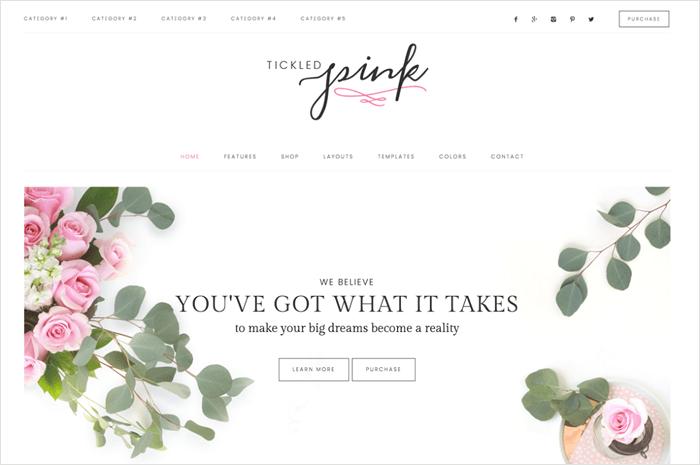 tickled-pink-wordpress-theme