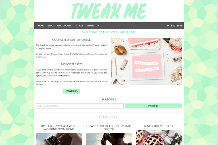 tweak-me-wordpress-theme