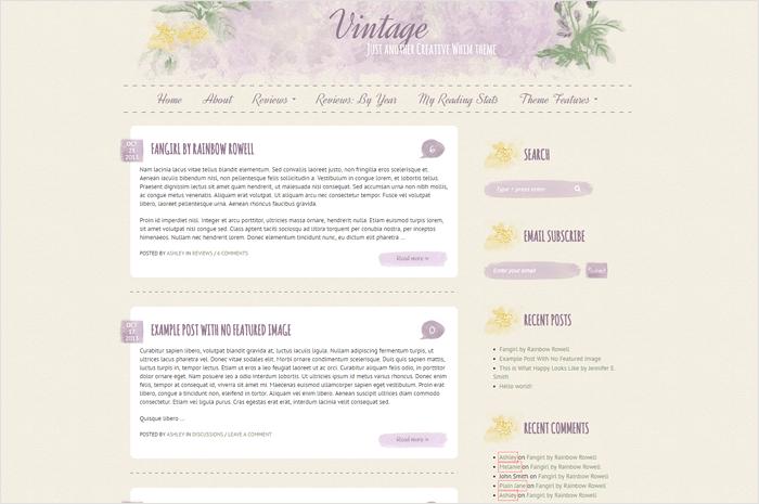 vintage-wordpress-theme